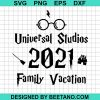 Universal studios family vacation