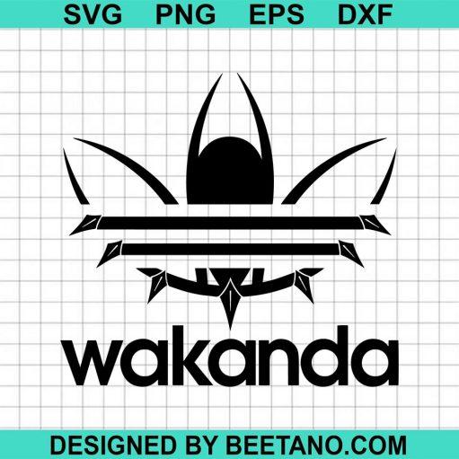 Wakanda forever black panther addidas