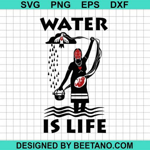 Water is life svg